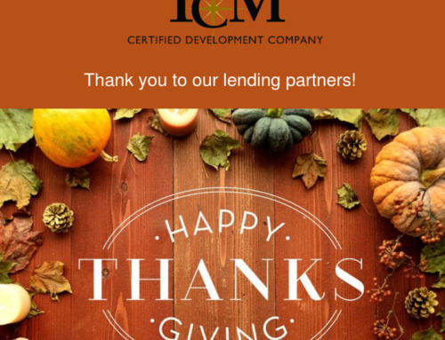Thanks to Our Lending Partners!