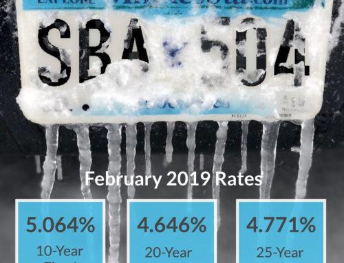 SBA 504 UPDATE – February Update